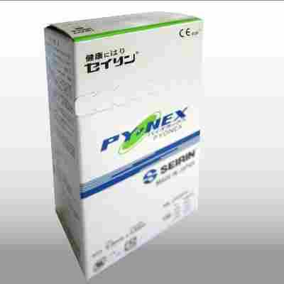 Dauernadeln New Pyonex 0,20 x 0,90 mm grün (100 Stck.)